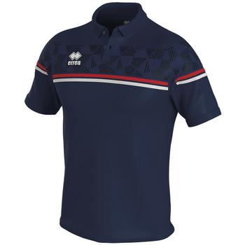 Oblečenie Polokošele s krátkym rukávom Errea Polo  dominic bleu/marine/blanc