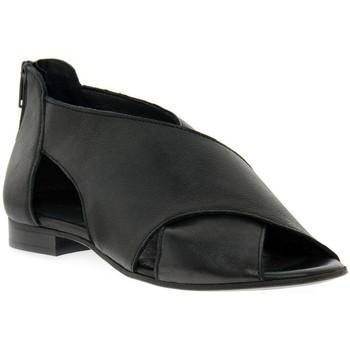 Topánky Ženy Sandále Priv Lab ROSSELLA  KENT NERO Nero