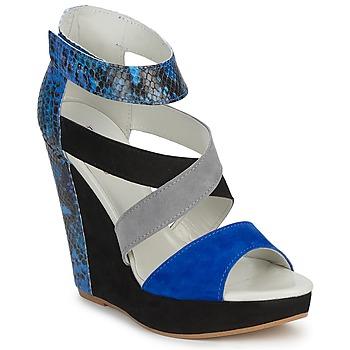 Topánky Ženy Sandále Serafini CARRY čierna / Modrá / šedá