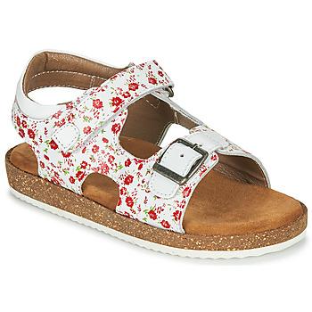 Topánky Dievčatá Sandále Kickers FUNKYO Biela