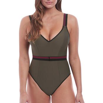 Oblečenie Ženy Plavky jednodielne Freya AS6826 KHI Zelená