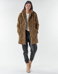Oblečenie Ženy Kabáty Noisy May NMGABI Hnedá