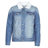 Oblečenie Muži Džínsové bundy Casual Attitude NOARO Modrá / Medium
