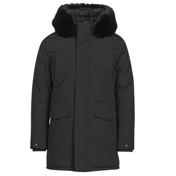 Oblečenie Muži Parky Casual Attitude NAFFO Čierna