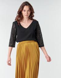 Oblečenie Ženy Blúzky Betty London NIXE Čierna