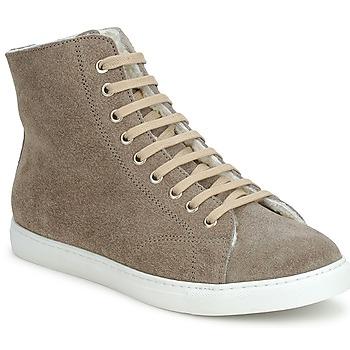 Topánky Členkové tenisky Swamp MONTONE SUEDE šedá