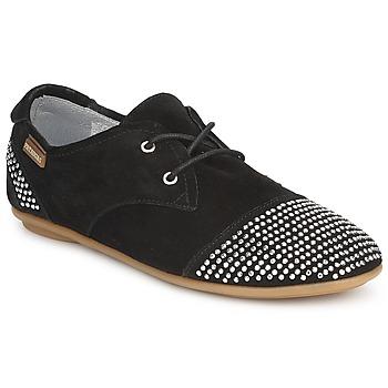Topánky Ženy Derbie Pataugas SWING Čierna
