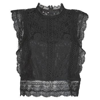 Oblečenie Ženy Blúzky Only ONLKARO Čierna