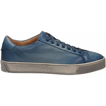 Topánky Muži Nízke tenisky Santoni DERBY 7 OCC. FORGOOSE azzurro