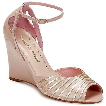 Topánky Ženy Sandále Sarah Chofakian LA PARADE Ružová / Zlatá