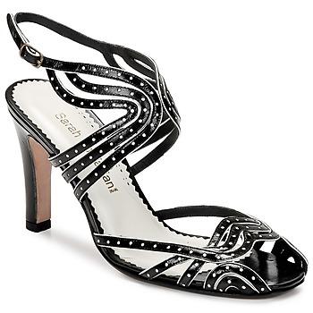 Topánky Ženy Sandále Sarah Chofakian WINGS Čierna / Zlatá