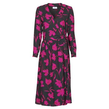 Oblečenie Ženy Dlhé šaty Betty London NOLIE Čierna / Ružová