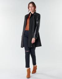 Oblečenie Ženy Kabáty Moony Mood NOUMEA Čierna