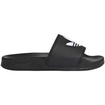 Topánky Deti športové šľapky adidas Originals Adilette lite j Čierna