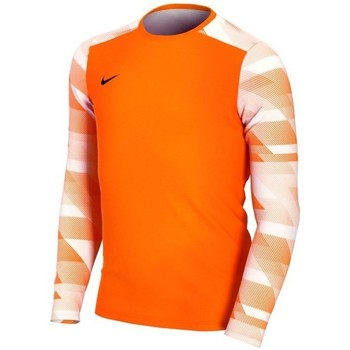 Oblečenie Chlapci Tričká s dlhým rukávom Nike JR Dry Park IV Oranžová
