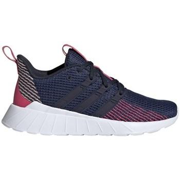 Topánky Deti Bežecká a trailová obuv adidas Originals Questar Flow Tmavomodrá