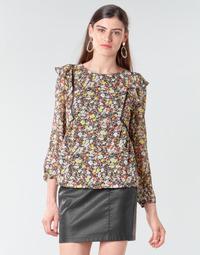 Oblečenie Ženy Blúzky Betty London NELIA Čierna / Viacfarebná