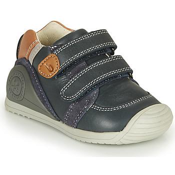 Topánky Chlapci Nízke tenisky Biomecanics BOTIN VELCROS Námornícka modrá