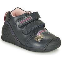 Topánky Dievčatá Nízke tenisky Biomecanics BOTIN TWIN Námornícka modrá