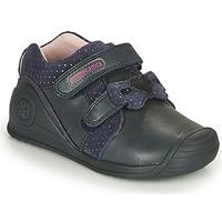Topánky Dievčatá Nízke tenisky Biomecanics BOTIN LAZO Námornícka modrá