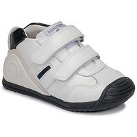 Topánky Chlapci Nízke tenisky Biomecanics BIOGATEO SPORT Biela