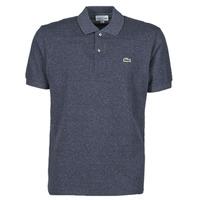 Oblečenie Muži Polokošele s krátkym rukávom Lacoste POLO L12 12 CLASSIQUE Modrá