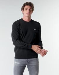 Oblečenie Muži Svetre Lacoste AH1985 Čierna