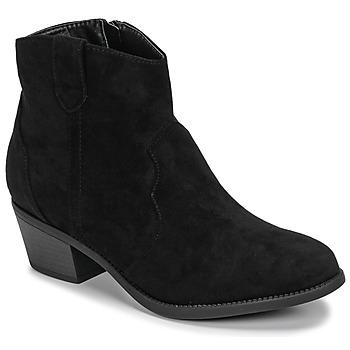 Topánky Ženy Polokozačky Moony Mood NINITE Čierna