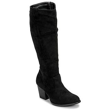 Topánky Ženy Čižmy do mesta Moony Mood NOEMA Čierna
