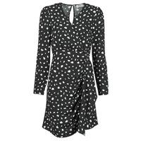 Oblečenie Ženy Krátke šaty Betty London NOELINE Čierna / Biela