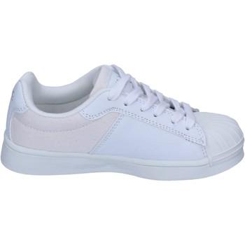 Topánky Chlapci Módne tenisky Beverly Hills Polo Club sneakers tessuto pelle sintetica Bianco