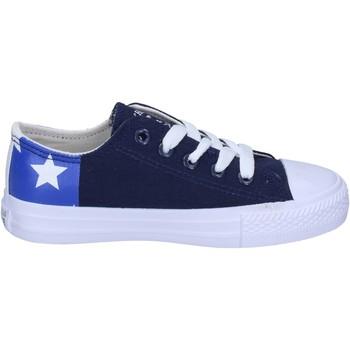 Topánky Chlapci Módne tenisky Beverly Hills Polo Club BM763 Modrá