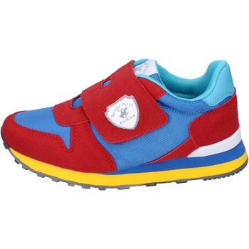 Topánky Chlapci Módne tenisky Beverly Hills Polo Club sneakers camoscio sintetico tessuto Rosso