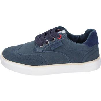 Topánky Chlapci Módne tenisky Beverly Hills Polo Club sneakers camoscio Blu