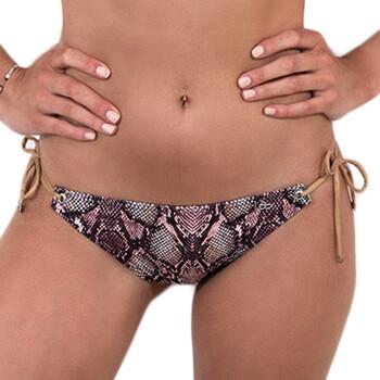 Oblečenie Ženy Plavky kombinovateľné LPB Woman 005BAS / SNAKE ROSE Ružová