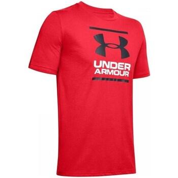 Oblečenie Muži Tričká s krátkym rukávom Under Armour GL Foundation SS T Červená