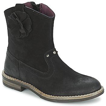 Topánky Dievčatá Polokozačky Mod'8 NOLA Čierna