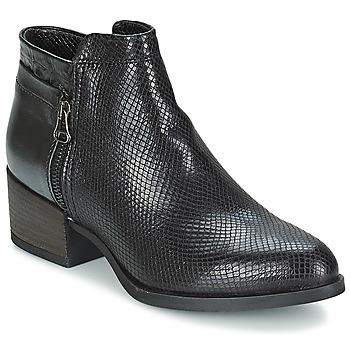 Topánky Ženy Čižmičky Mjus KAKANJ čierna
