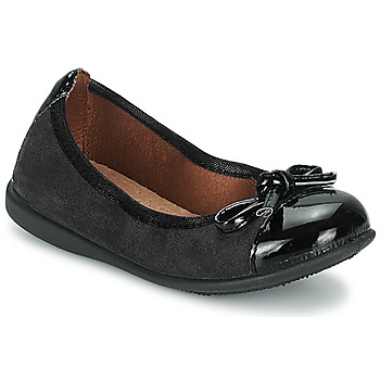 Topánky Dievčatá Balerínky a babies Citrouille et Compagnie ROCIA čierna