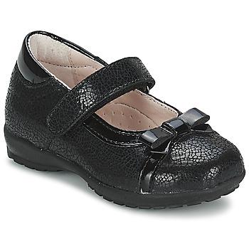 Topánky Dievčatá Balerínky a babies Citrouille et Compagnie TETRAS čierna