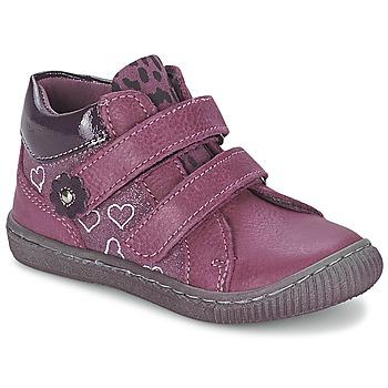 Topánky Dievčatá Polokozačky Citrouille et Compagnie GALIS Ružová