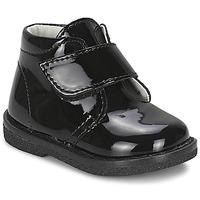 Topánky Dievčatá Polokozačky Citrouille et Compagnie MERLE čierna