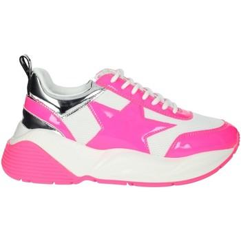 Topánky Ženy Nízke tenisky Shop Art SA020044FX White/Fuchsia
