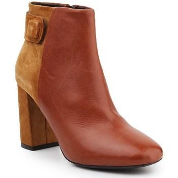 Topánky Ženy Čižmičky Geox D Audalies H C Hnedá