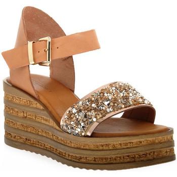 Topánky Ženy Sandále Sono Italiana VACCHETTA GLITTER Grigio