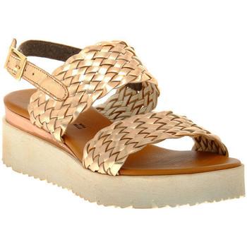 Topánky Ženy Sandále Sono Italiana LAMINATO RAME Marrone
