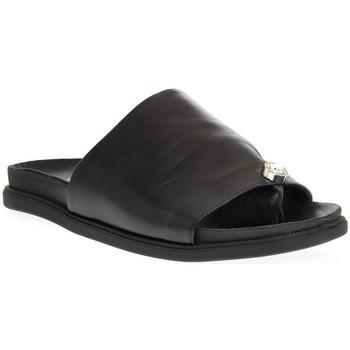 Topánky Ženy Šľapky Sono Italiana NAPPA NERO Nero