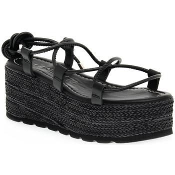Topánky Ženy Sandále Vienty NOX NERO Nero