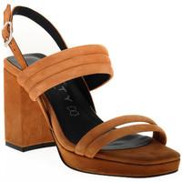 Topánky Ženy Sandále Vienty TAN JIM Marrone