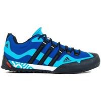Topánky Muži Turistická obuv adidas Originals Terrex Swift Solo Čierna, Modrá, Tmavomodrá